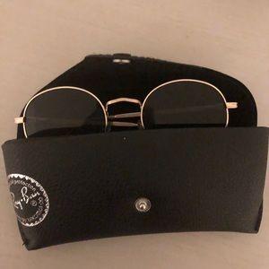 Vintage sunglasses. Circle deign, accessories